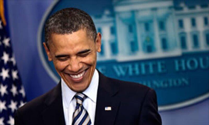 En las últimas semanas, la aprobación del Presidente Barack Obama subió a 50% en varios sondeos. (Foto: Cortesía CNNMoney.com)