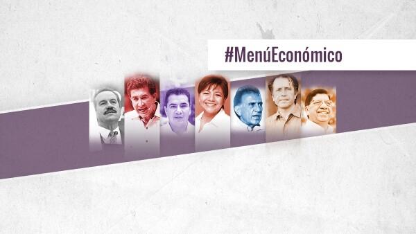 Los aspirantes a suceder a Javier Duarte exponen sus propuestas para impulsar el crecimiento económico de la entidad.