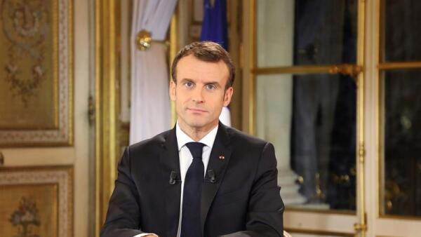 Macron chalecos amarillos protestas