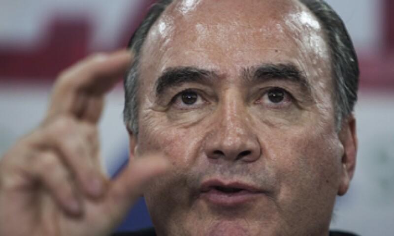 El presiente de la Concanaco-Servytur, Jorge Dávila, dijo que el sector empresarial no está satisfecho con la propuesta delineada.  (Foto: Cuartoscuro)