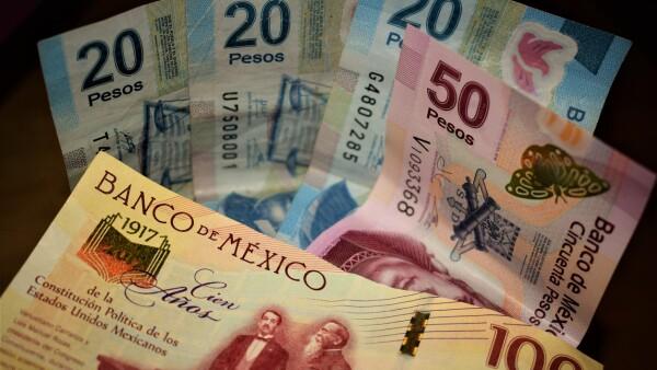 Mexican pesos (notes) III
