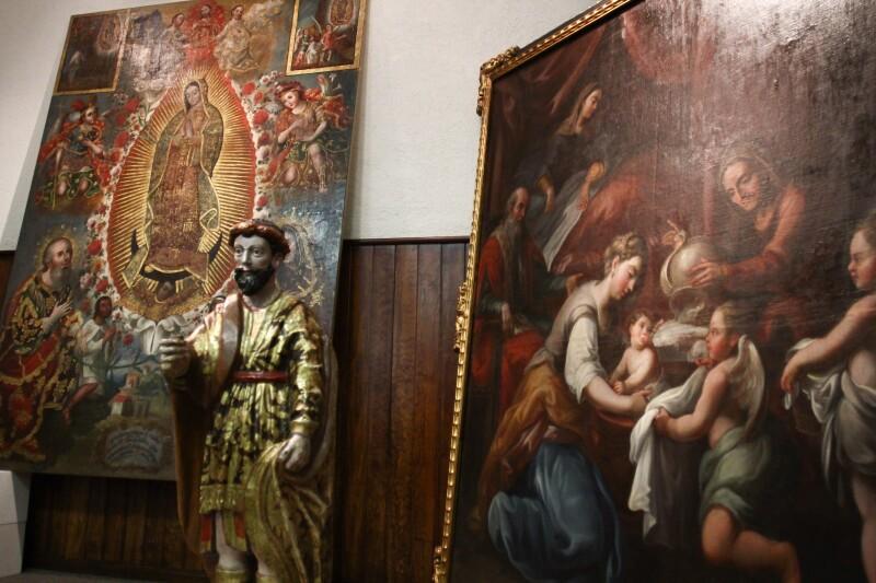 El robo de arte sacro 'vacía' el patrimonio de América Latina, alerta la UNAM