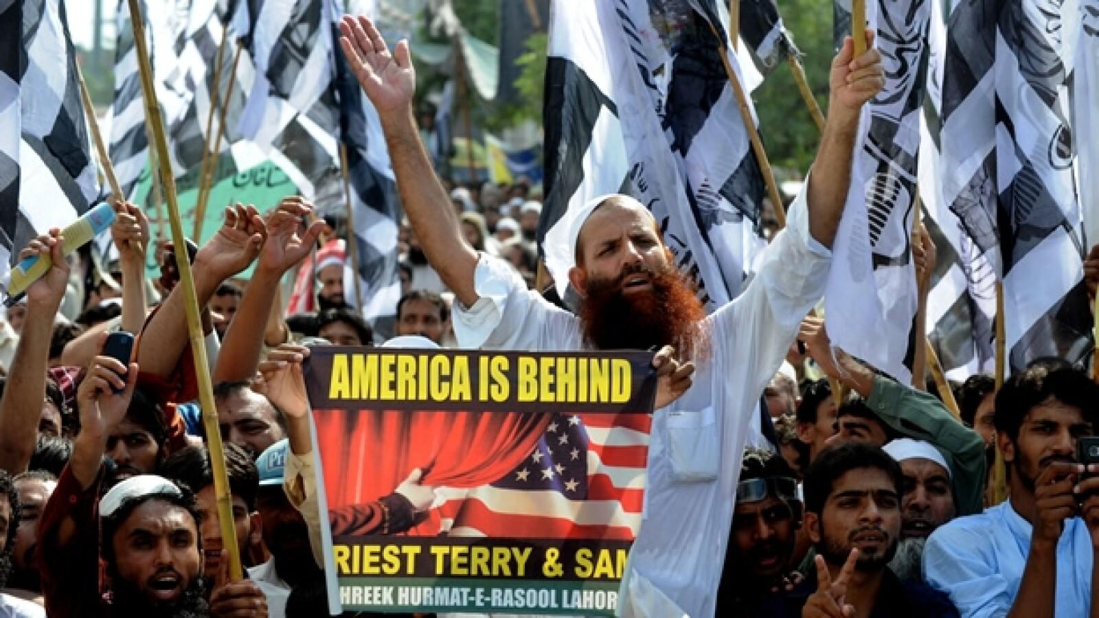 Pakistán protesta