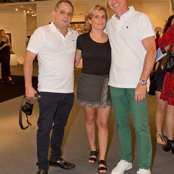 Héctor Alonso Rebaque, Mariana Alonso Rebaque y Martín Moreno