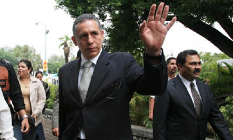 Pedro Luis Benítez Vélez fue Fiscal Especial de Trata de Personas de la Procuraduría de Justicia del Estado de México. (Foto: Cuartoscuro)