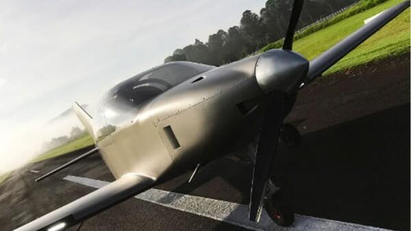 El Halcón 2 será el primer avión de su tipo armado en México en casi 80 años