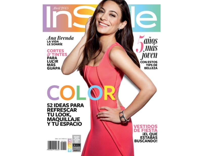 Así luce la portada más colorida del año de la revista InStyle!