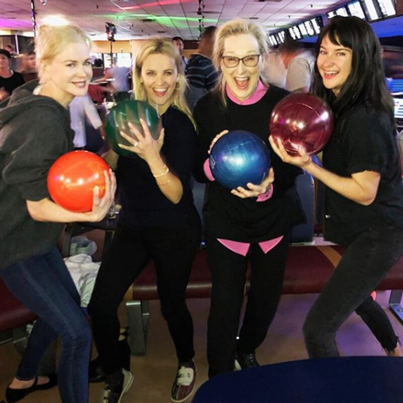 Nicole Kidman, Reese Witherspoon  Meryl Streep