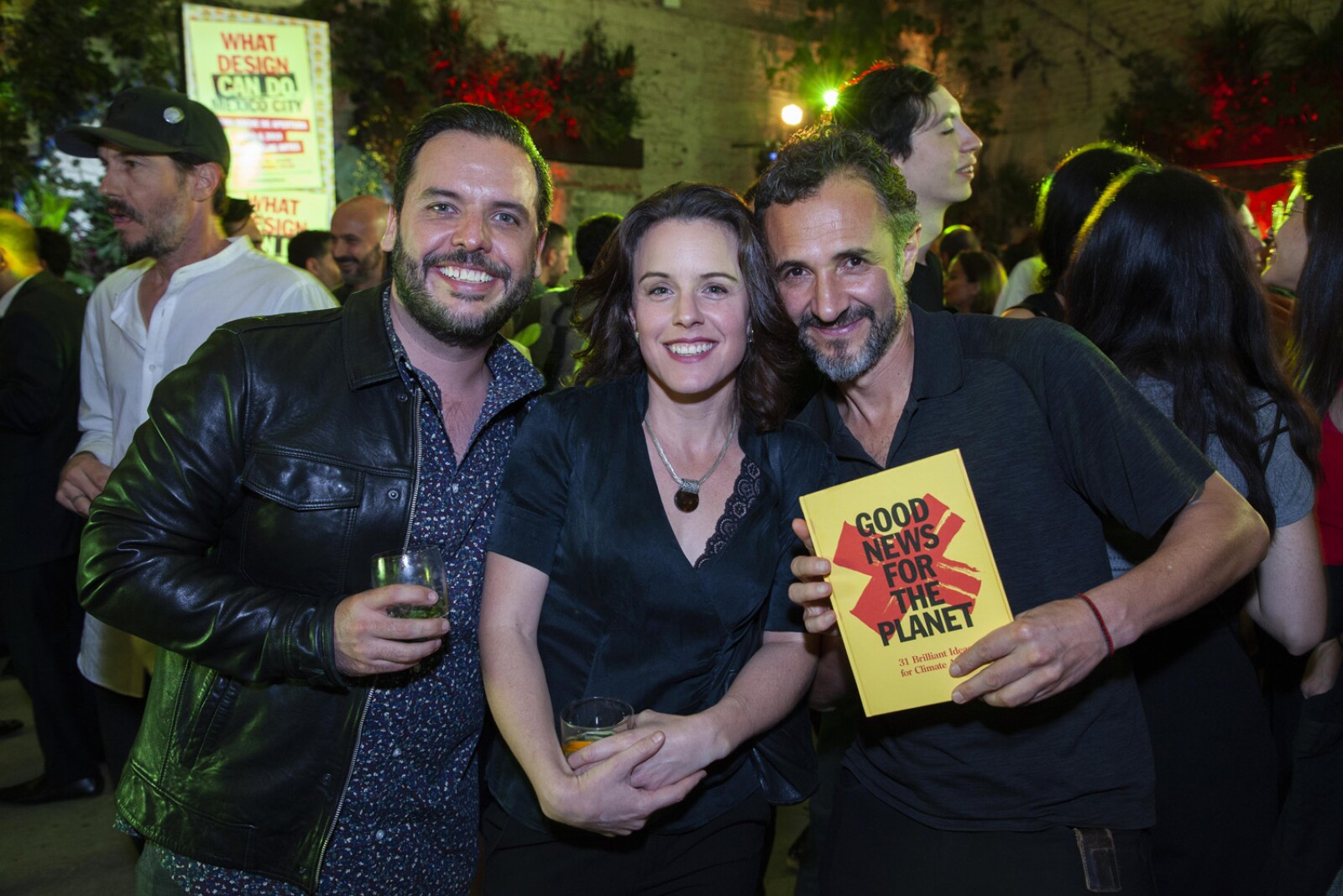 Juan Pablo Ybarra, Ana Bellinghausen, Alan Ibarra