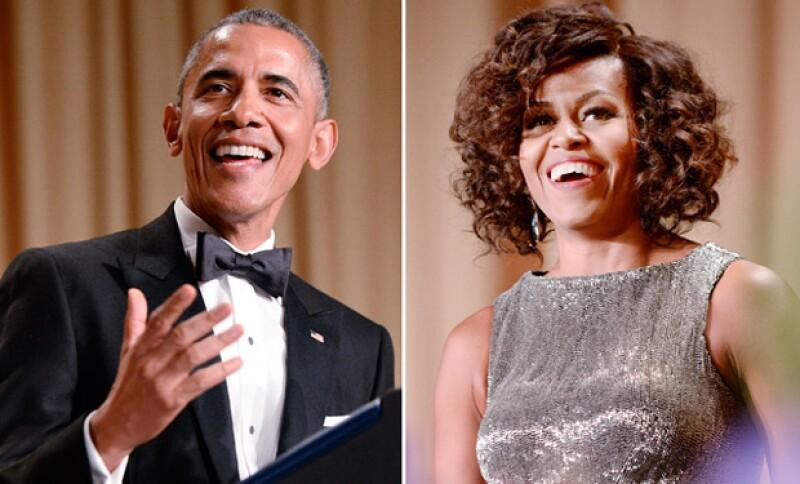 Una amplia mezcla de figuras de Hollywood y Washington se reunieron en la capital estadounidense para la cena de Asociación de Corresponsales de la Casa Blanca.