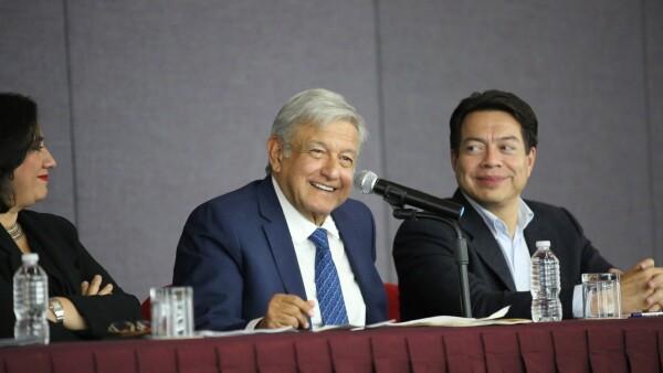 López Obrador AMLO presidente fuerte