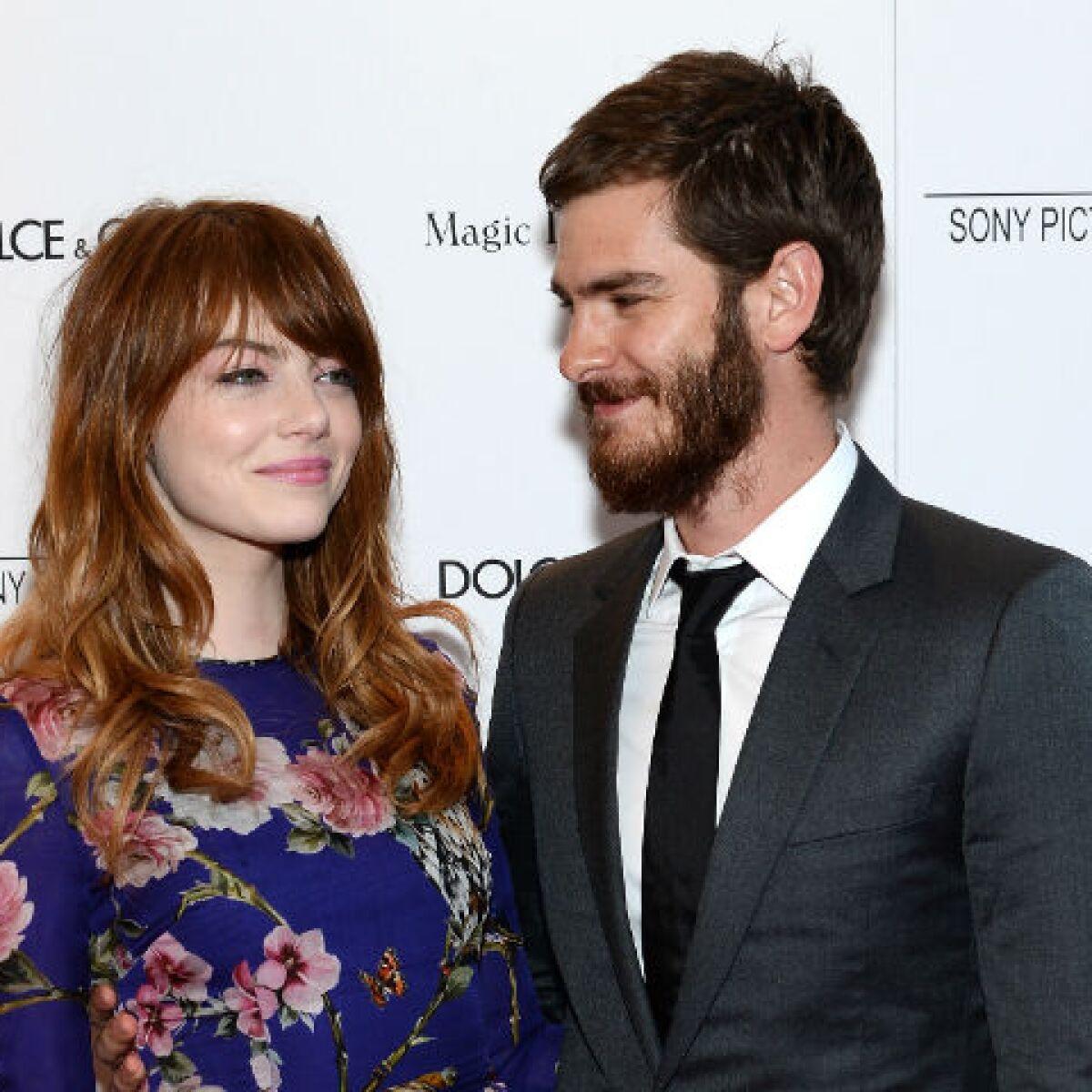 Emma Stone y Andrew Garfield podrían casarse este verano