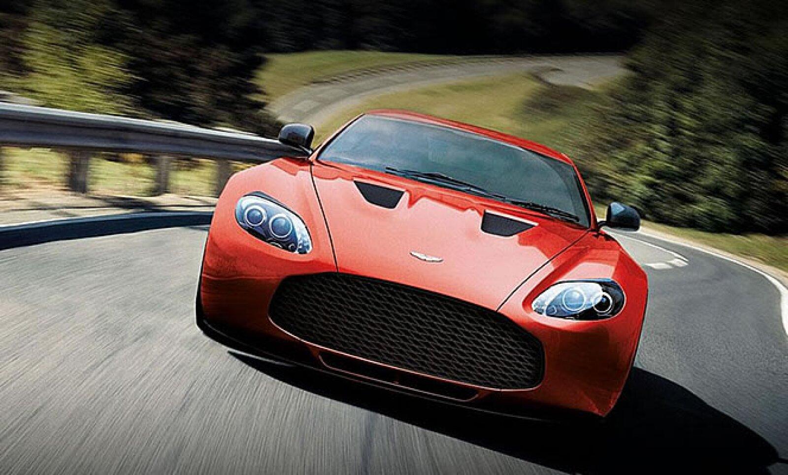 El nuevo V12 nace de la colaboración entre el fabricante inglés de finos deportivos, Aston Martin, y el carrocero italiano Zagato.