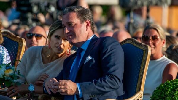 Princesa Magdalena de Suecia y su esposo Chris O' Neill