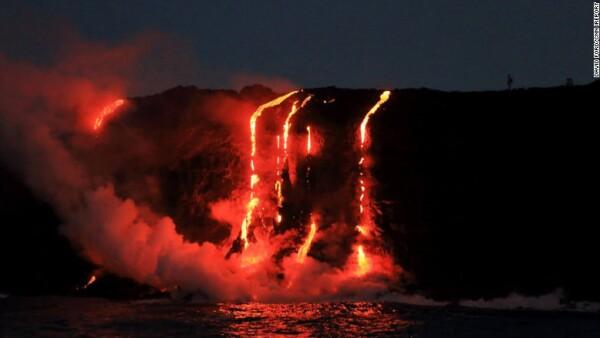 En erupción