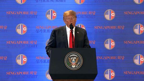 """Trump dijo que pondrá fin a los """"juegos de guerra"""" con Corea del Norte"""