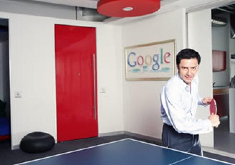 Enrique Quevedo es gerente de Soluciones Web para Google México. (Foto: Cortesía Google)