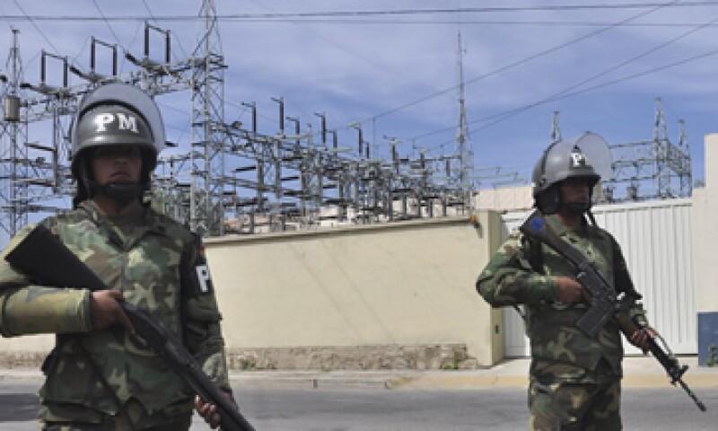 Con la medida del martes ha vuelto a control estatal toda la cadena de producción eléctrica. (Foto: AP)