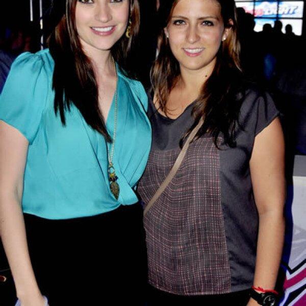 Michelle Galván y Gaby Garza