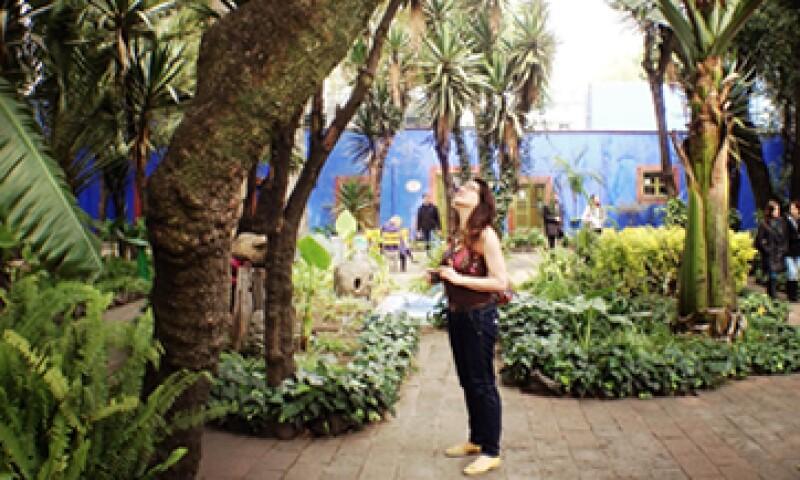 El jardín de la Casa Azul, donde vivía la pintora, será replicado en Nueva York. (Foto: Getty Images )