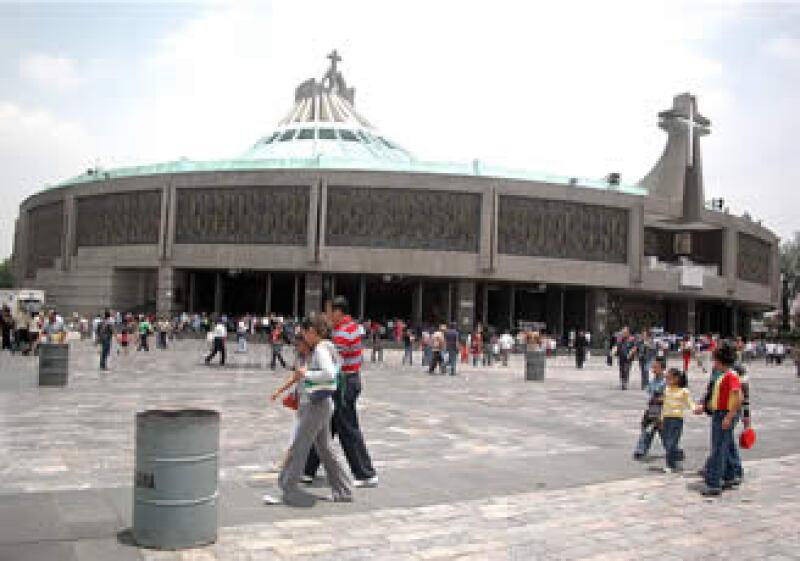 El templo guadalupano es el santuario católico más visitado del mundo. (Foto: Notimex)