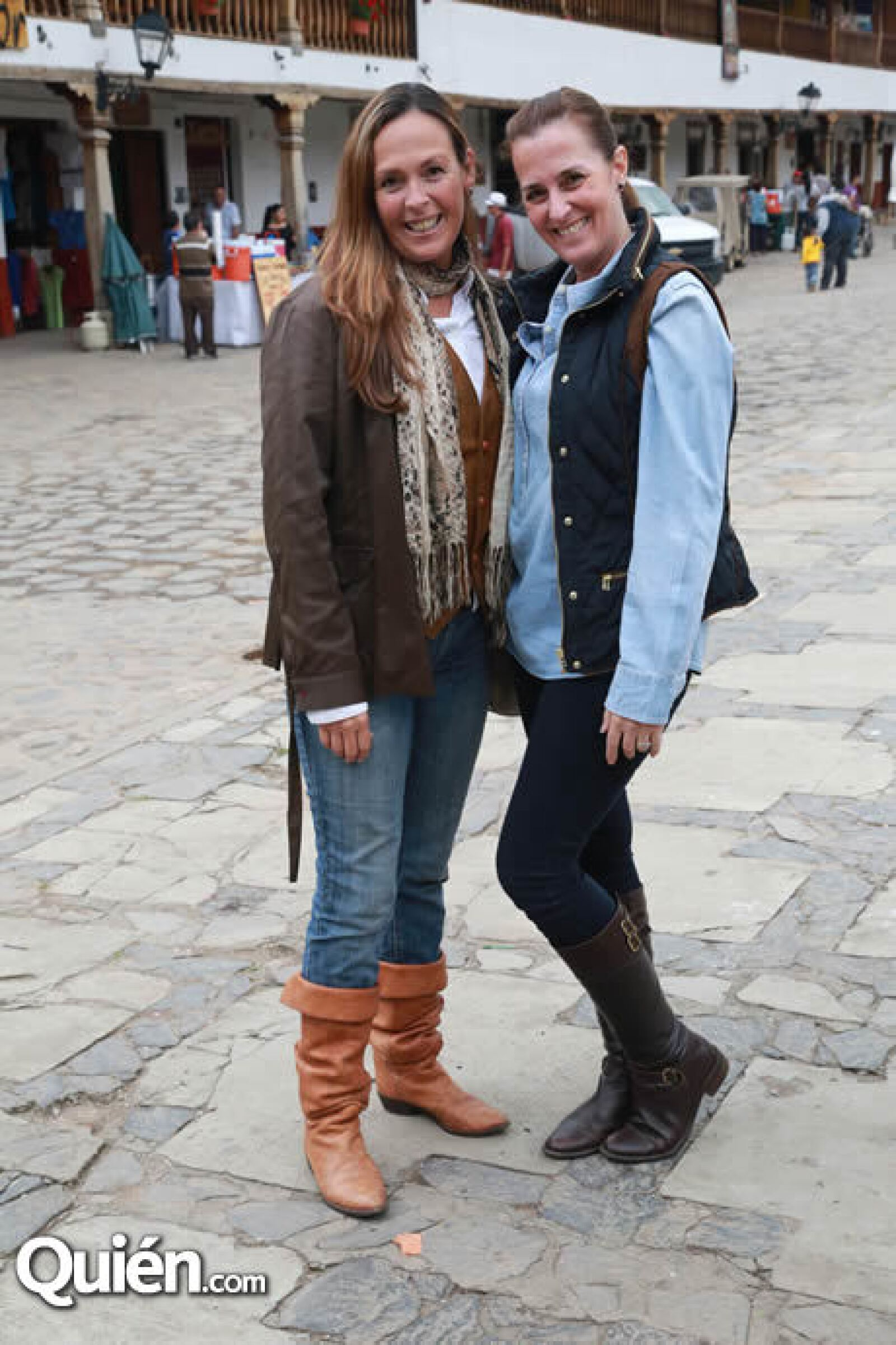 Gabriela Moctezuma y Claudia Pelayo