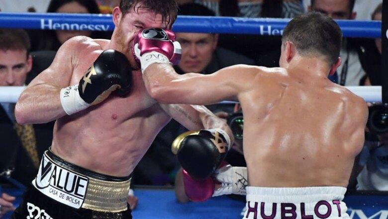 Saúl 'Canelo' Álvarez vs Gennady Golovkin II