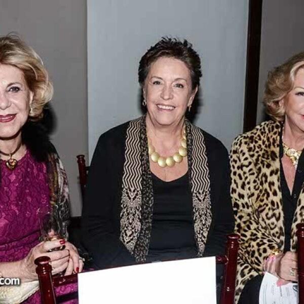 Cristina Villela,Yolanda Ongay y Leticia Ilarvechi.