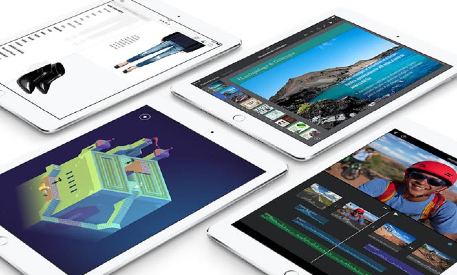 El equipo cuenta con 'apps' para realizar tareas cotidianas, como navegar en Internet, ver el correo electrónico, retocar fotos, etc.