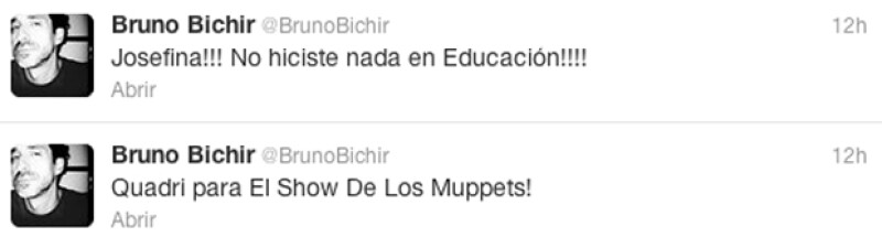 Post de Bruno Bichir.
