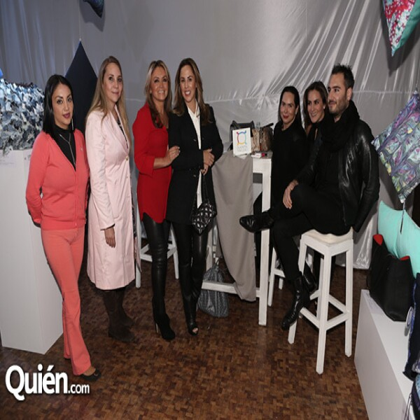 Grisel Chavarría, Natalia Margain, Rosaura Henkel, Karla Pérez Fayad, Alexa Rodulfo, Silvia Rojo y Jesús Navarro