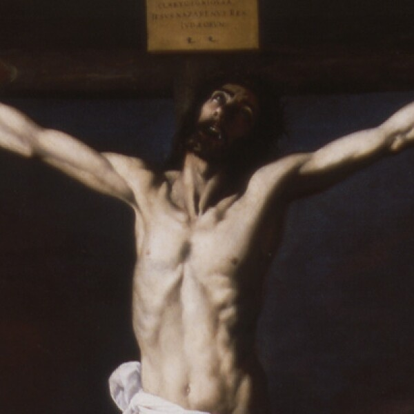 Autor: Francisco de Zurbarán. Material: Óleo sobre tela. Tamaño: 232 x 176 cm. Origen: Col. Museo de Bellas Artes de Sevilla, Sevilla, España.