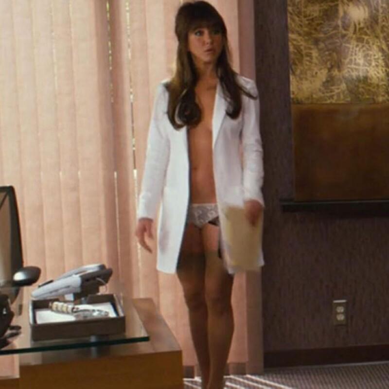 Jennifer Aniston es una actriz muy versátil. En Horrible Bosses interpretó a toda una acosadora sexual.