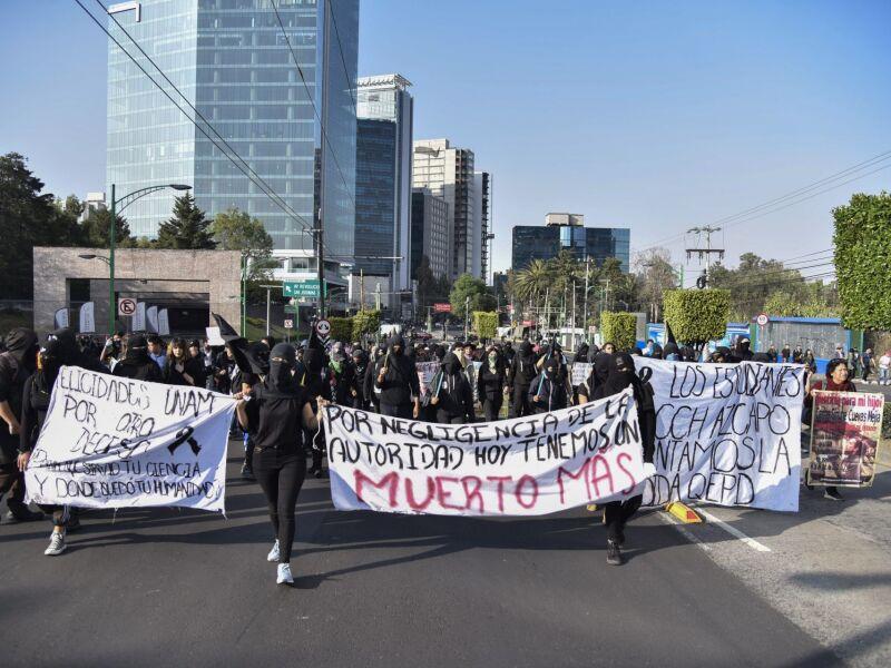 protesta cch azcapotzalco