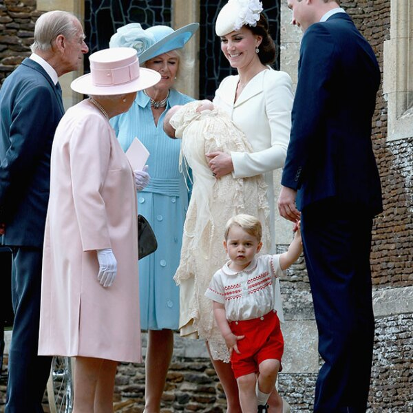 A su llegada, ya los esperaban la reina Isabel II, el duque de Edimburgo y Camilla Parker Bowles