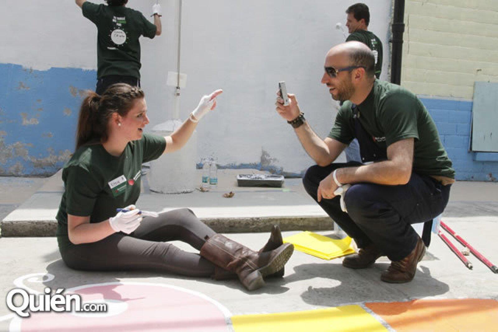 Kitzia Mitre y Ricardo Kleinbaum