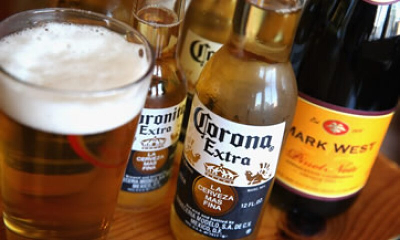 Constellation Brands es dueña de marcas como Corona, en EU. (Foto: Getty Images)
