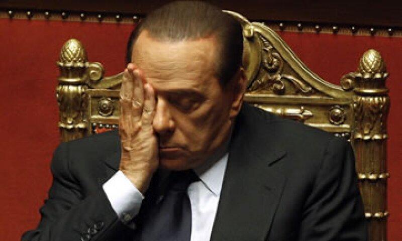 Diarios dijeron que la partida de Silvio Berlusconi marcó el final de una era. (Foto: Reuters)