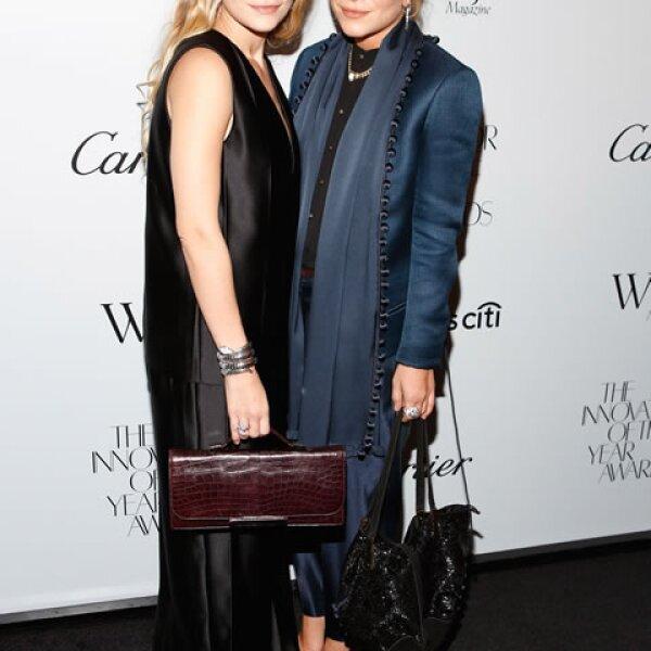 Las exitosas diseñadoras fueron reconocidas en 2012 por WSJ como innovadoras del año por su firma The Row.
