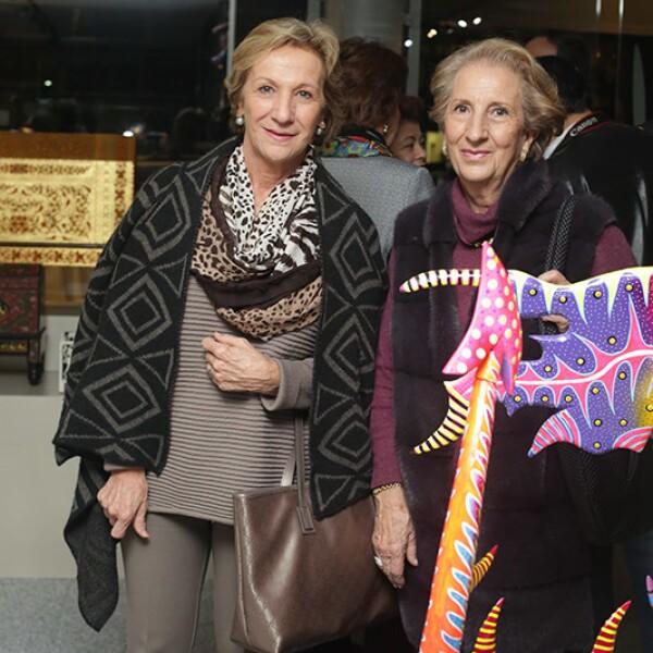 Rosa María y Carmen Cosío