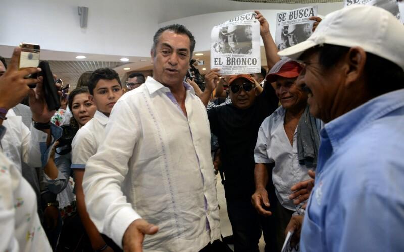 El Bronco, candidato presidencial independiente Jaime Rodríguez Calderón tendrá que pagar 739,047.1 pesos por diversas irregularidades.