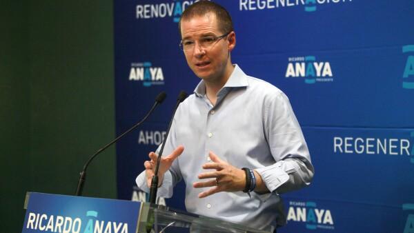 El dirigente del PAN, Ricardo Anaya, recordó que el año pasado 21 personas murieron en hechos violentos durante las elecciones.