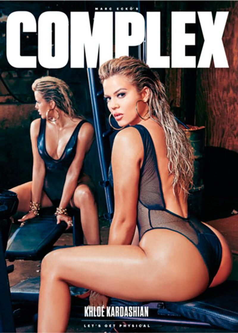 La menor de las Kardashian declaró en entrevista con Complex, previo a la separación de su hermana, que estaba orgullosa de cómo ha cambiado su cuñado.