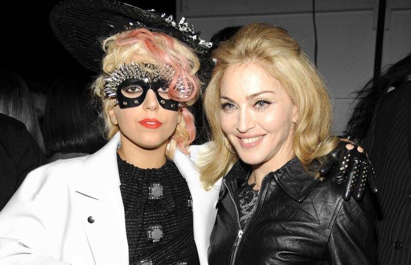 Lady Gaga y Madonna