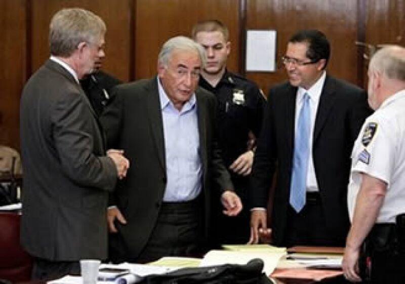 El ex funcionario ha permanecido las últimas cuatro noches en la prisión Rikers Island en Nueva York. (Foto: AP)