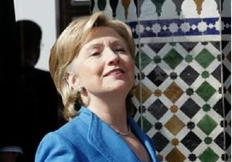 La secretaria de Estado, Hillary Clinton, la segunda más rica de los políticos cercanos a Obama (Foto: Reuters)