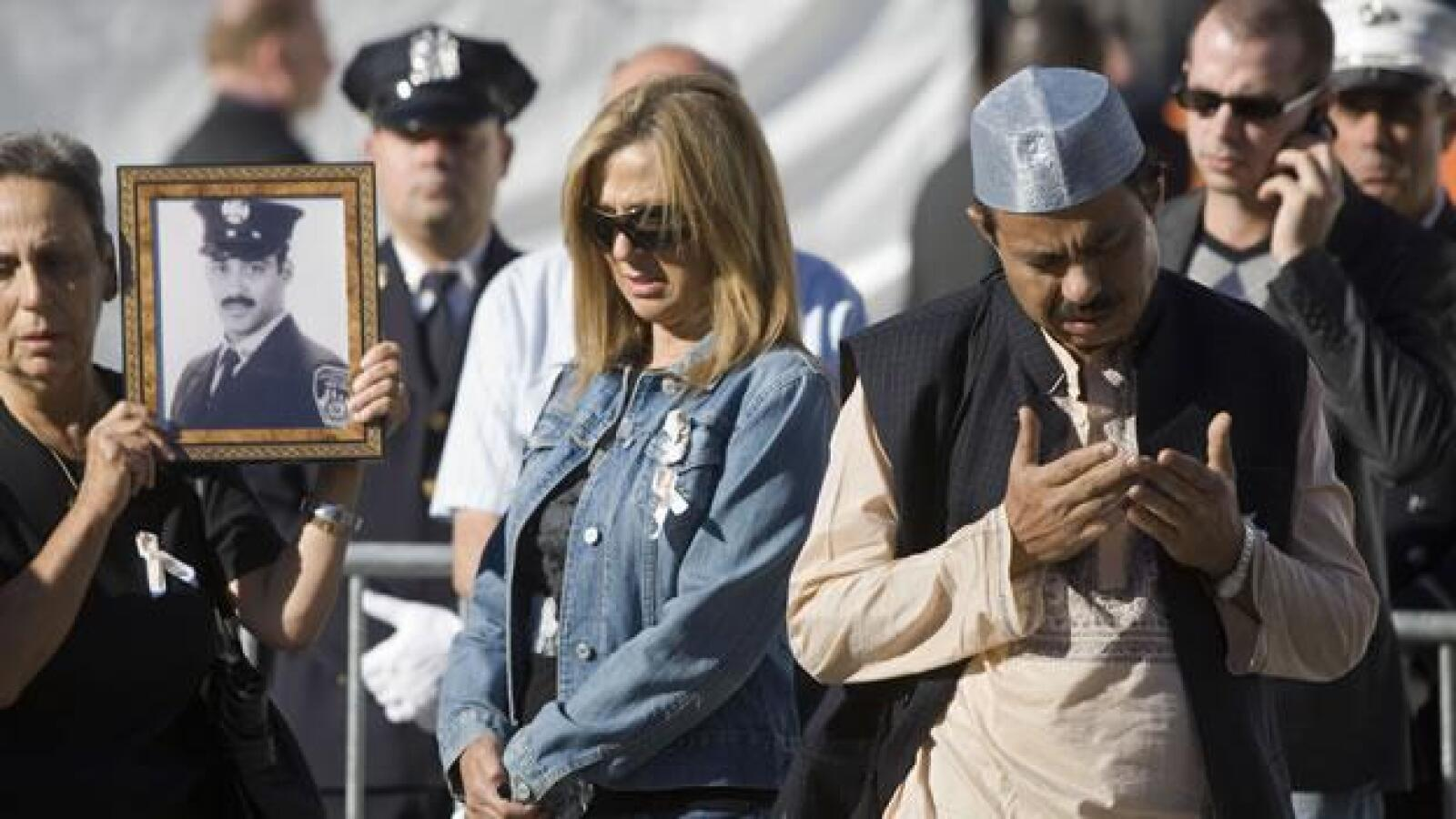 Familiares de victimas del 11 de septiembre