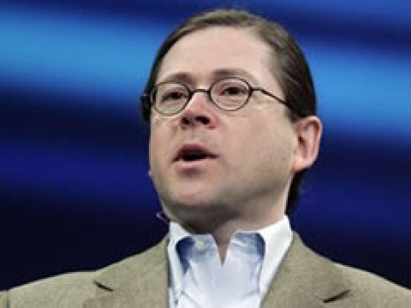 Jonathan Schwartz, director general de Sun, podría correr la misma suerte que Jerry Yang, ex CEO de Yahoo. (Foto: AP)