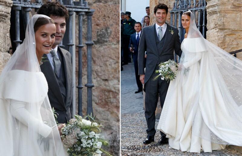 El enlace del colombiano y la hija de los duques de Weillington, en España, ocasionó un despliegue de personalidades de la realeza y la farándula, quienes se dieron cita en el exclusivo evento.