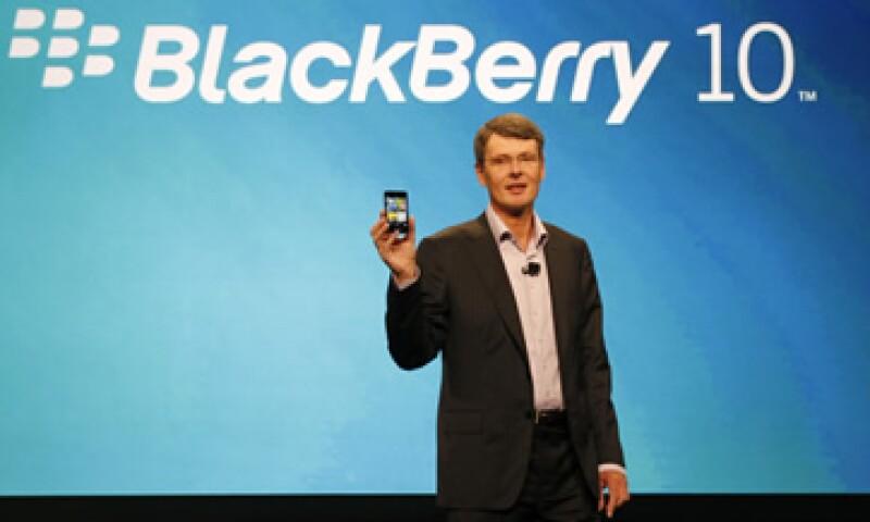El BlackBerry 10 estaba planeado para lanzarse a finales de este año. (Foto: AP)